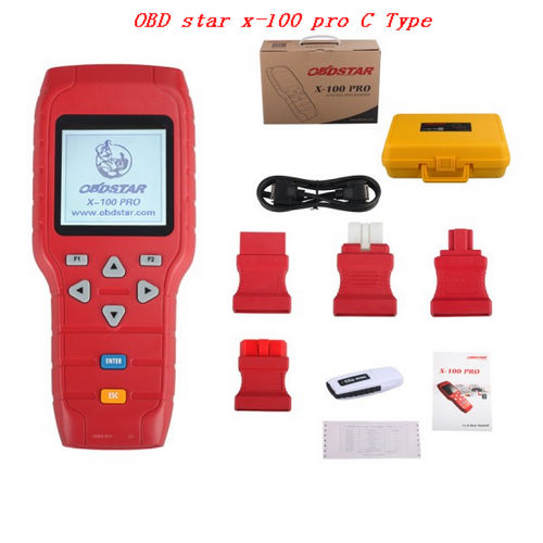 Supplier OBD star x-100 pro C Type OBDSTAR X-100 PRO Auto key programmer